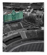 Wrigley Field Chicago Sports 04 Selective Coloring Fleece Blanket