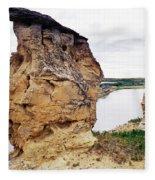 Writing-on-stone Provincial Parks Fleece Blanket
