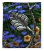Wrought Iron Garden Fleece Blanket