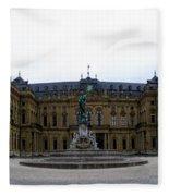 Wuerzburger Residenz Fleece Blanket