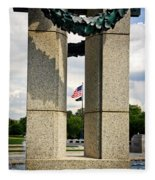 Ww I I Memorial Vintage Fleece Blanket