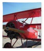 Wwi German Fighter Fleece Blanket
