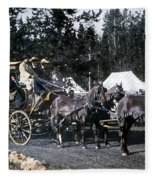 Wylie Coach Yellowstone National Park Fleece Blanket