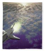 X34 Aircraft Fleece Blanket