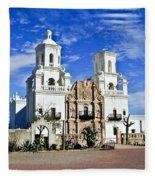 Xavier Tucson Arizona Fleece Blanket
