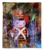 Xmas Soldier Ornament Photo Art 02 Fleece Blanket