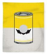 Y Mario Warhols Minimal Can Poster-wario Fleece Blanket