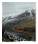 Yakima River  Fleece Blanket