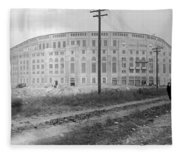 Yankee Stadium, 1923 Fleece Blanket
