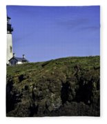 Yaquina Head Fleece Blanket