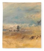 Yarmouth Sands Fleece Blanket