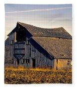 Yarrow Ave Barn 2 Fleece Blanket