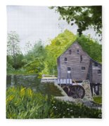 Yates Mill Summer Fleece Blanket