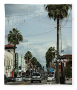 Ybor City Fleece Blanket
