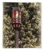 Ye Olde Street Lamp Fleece Blanket