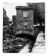 Ye Olde Toll Bridge Fleece Blanket