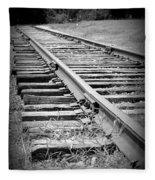 Ye Olde Tracks Fleece Blanket