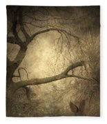 Year Of The Rabbit Fleece Blanket