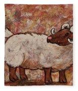 Year Of The Ram  Fleece Blanket