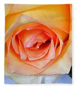Yellow And Pink Fleece Blanket
