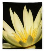 Yellow And Yellow Waterlily...   # Fleece Blanket