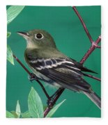 Yellow-bellied Flycatcher Fleece Blanket