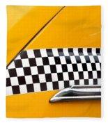 Yellow Cab - 4 Fleece Blanket