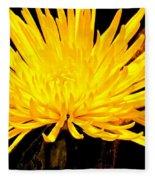 Yellow Flash Fleece Blanket