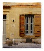 Yellow House No 32 Arles France Dsc01779  Fleece Blanket