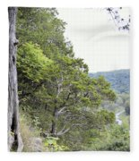 Yellow River Fleece Blanket