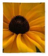 Yellow Silk Fleece Blanket