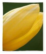 Yellow Tulip 1 Fleece Blanket
