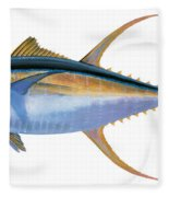 Yellowfin Tuna Fleece Blanket