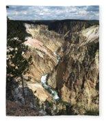 Yellowstone Canyon Fleece Blanket