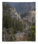Yellowstone Grand Canyon Fleece Blanket