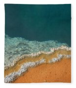 Yellowstone National Park - Hot Spring Fleece Blanket