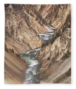 Yellowstone National Park Montana  3 Panel Composite Fleece Blanket