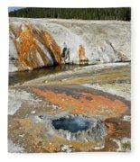 Yellowstone Small Crested Pool Fleece Blanket