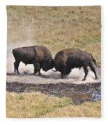 Yellowstone Turf War Fleece Blanket