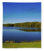 Yellowwood Lake 1 Fleece Blanket