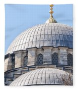 Yeni Cammii Mosque 05 Fleece Blanket