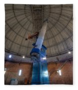 Yerkes Observatory Telescope Fleece Blanket