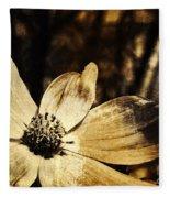 Yesterday's Flower Fleece Blanket