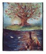Yggdrasil - The Last Refuge Fleece Blanket
