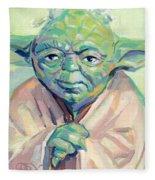 Yoda Fleece Blanket