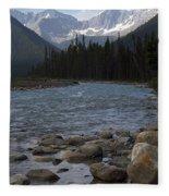 Yoho National Park British Columbia Fleece Blanket