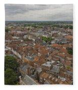 York From York Minster Tower II Fleece Blanket