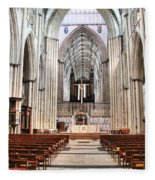 York Minster 6114 Fleece Blanket
