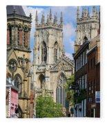 York Minster 6172 Fleece Blanket