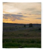 Yorkshire - Sheepwash Osmotherley Fleece Blanket